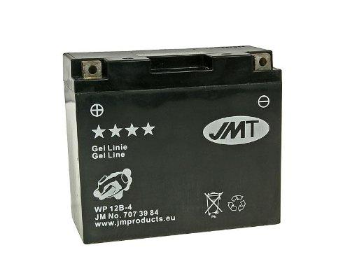 Preisvergleich Produktbild Batterie JMT Gel JMT12B-BS für Yamaha XVS 650 AN Drag Star Classic Bj. 1998 - inkl. 7, 50 EUR Batteriepfand
