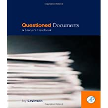 Questioned Documents: A Lawyer's Handbook