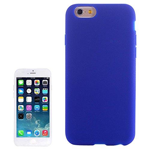 The fly shop - cover per iphone 6 6s / custodia azzurra in silicone flessibile protettiva e resistente agli urti