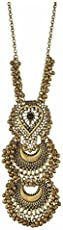 A M INTERNATIONAL Golden Oxidised High Class Luxury Hot Selling Afghan Tribal Afghani Necklace