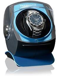 Vitrina móvil para relojes Designhütte Space azul Caja giratoria (Watch Winder) Rotador de relojes de lujo
