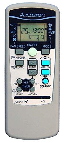 Telecomando per condizionatore mitsubishi heavy industries rkx502a001 aria condizionata, climatizzatore, pompa di calore, inverter
