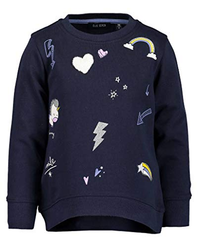 Blue Seven Mädchen Vd-764553 X Sweatshirt, Dk Blau 574, 92