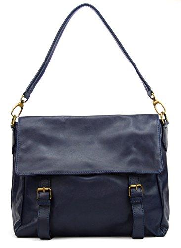 OH MY BAG Cartable / Sac à Main en cuir souple porté main, épaule et bandoulière Modèle Kangri Nouvelle collection - SOLDES