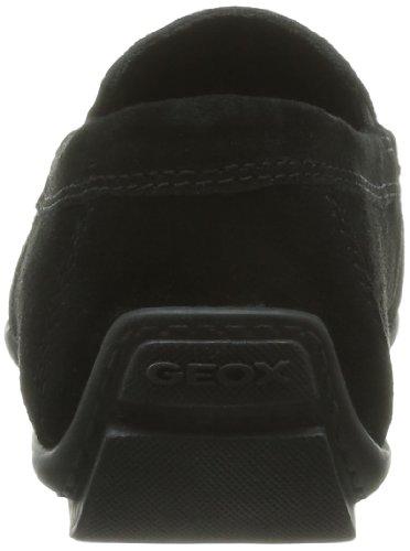 Geox U W.Monet Q-Scam, Mocassins homme Noir (Black)