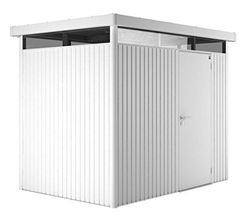 Biohort Highline H2 mit Doppeltüre weiß, 275x195cm, Geräteschrank, Gartenhaus, Gerätehaus von...