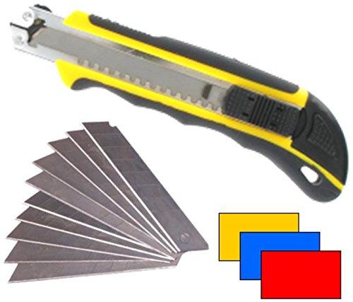Cutter professionnel cutter 18 mm avec lames sécables de 13