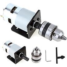 Origlam Minipuntas de Taladro de mano, 12–24V, prensa con Motor y soporte de montaje