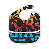 Best California Baby Gifts For Boys - California Beach Coconut Tree Waterproof Baby Bibs Washable Review