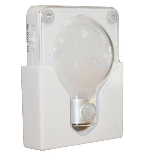Luce Nottura con Sensore di Movimento - 20 lumens - 4 LED
