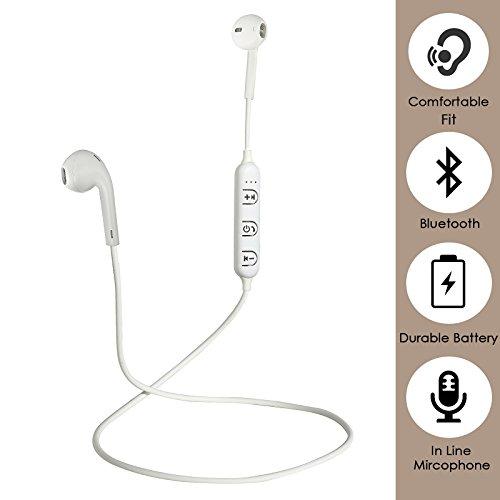 871978dc46e 25% OFF on PTron Avento Wireless in Ear Bluetooth Headset (White) on Amazon