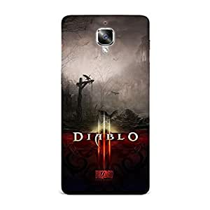 Qrioh Printed Designer Back Case Cover for OnePlus 3 - 62M-MP1244
