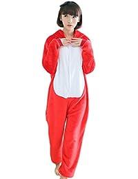 Yimidear® Unisex Cálido Pijamas para Adultos Cosplay Animales de Vestuario  Ropa de Dormir Halloween y 47bfcff7d94