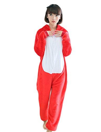 Yimidear® Unisex Cálido Pijamas para Adultos Cosplay Animales de Vestuario Ropa de Dormir Halloween y Navidad