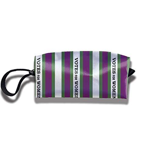 TRFashion Toiletry Bag Votes for Women Green and PurpleStorage Bag Beauty Case Wallet Cosmetic Bags Aufbewahrungstasche Kosmetiktasche -