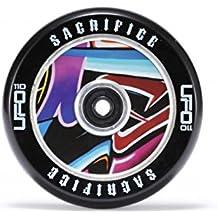 Sacrificio UFO Hollowtech patinete rueda 110mm negro/Graffiti