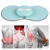 Halswirbel Massagegerät, Big Fun Schulter Nacken Muskelkater Massage Kabelloses wiederaufladbares Elektroden PAD mit 5 Modellen, 10 Stufen für Muskel Entlastung für Unterwegs