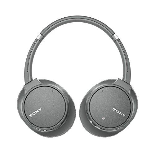 Sony WH-CH700N kabelloser Noise Cancelling Kopfhörer (Bluetooth, bis zu 35 Stunden Akku, Schnelladefunktion, NFC) grau - 4