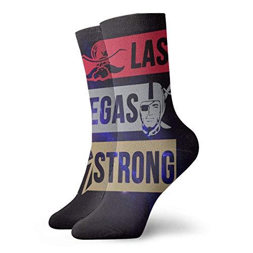 LanShanQuJingYuFuZhuangDian Las Vegas Starke Ritter Rebellen Räuber Ritter Unisex Frau Herren Kleid Lustige Verrückte Winter Warme Crew Socken -