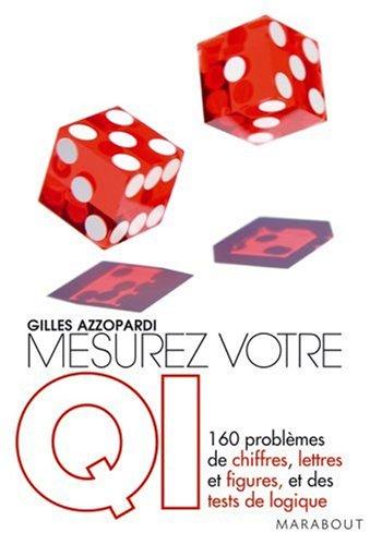 Mesurez votre QI par Gilles Azzopardi