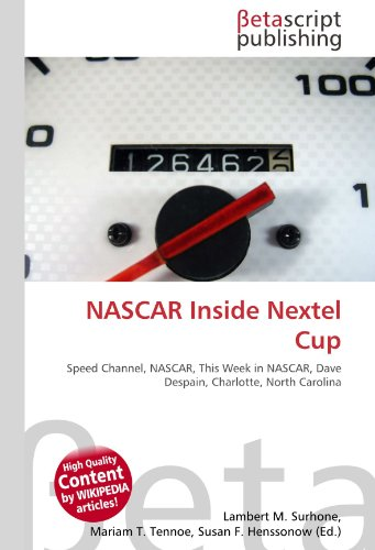 nascar-inside-nextel-cup-speed-channel-nascar-this-week-in-nascar-dave-despain-charlotte-north-carol