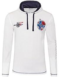 T194 - NEBULUS Hoody Shirt JOHN, Langarm Shirt, Hemd lang, Polo lang, Polo-Shirt lang