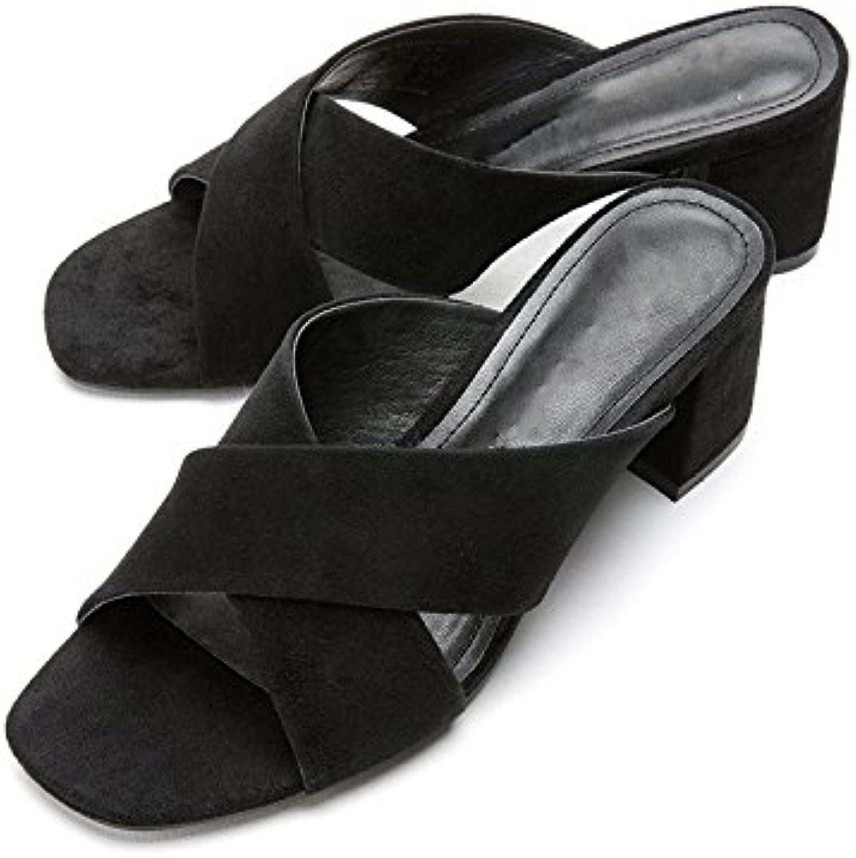 DHG Sandali estivi, Pantofole da donna alla moda, Sandali piatti casual, Sandali con tacco basso a tacco basso... | Reputazione a lungo termine  | Scolaro/Signora Scarpa