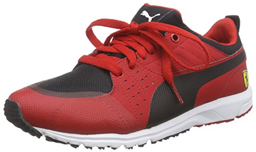 Puma - Pitlane Sf, Scarpe da ginnastica Unisex – Adulto Rosso (Rot (rosso corsa-black 01))