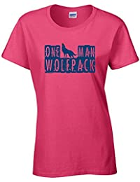 One Man Wolfpack Ladies Vest - Pink - X-Large