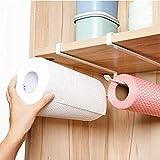 Supporto mobile per rotolo di carta assorbente, carta da cucina o pellicola