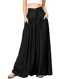 Larghi it Amazon Abbigliamento it Pantaloni Amazon qxS1I