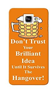 KnapCase Don't Trust Idea Designer 3D Printed Case Cover For Samsung Galaxy A7 2016