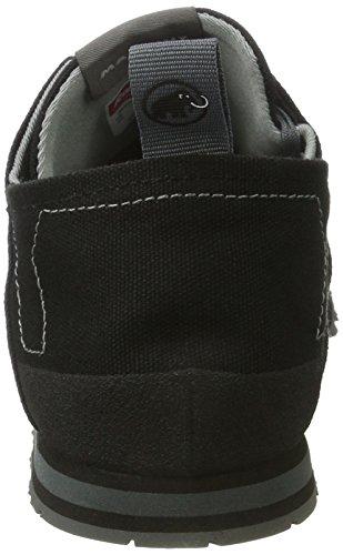 Mammut Sloper Low Canvas Men (Backpacking/Hiking Footwear (Low)) Grigio (Black-grey)