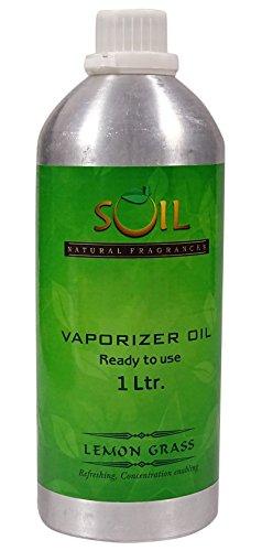 SOIL Natürliche Düfte Zitronengras Vaporizer Öl - 1 Ltr / 33,8 Unze -