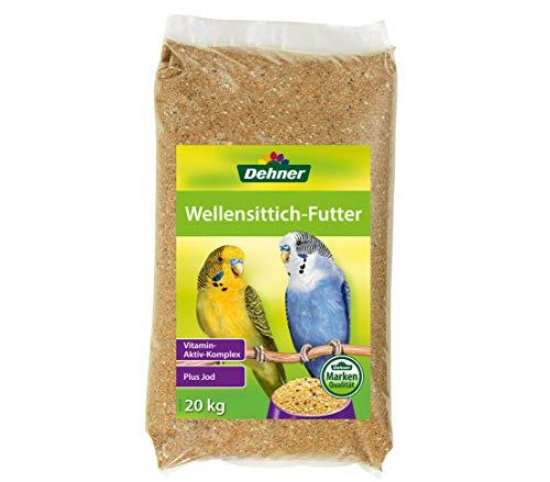 Dehner Wellensittichfutter, 20 kg, 1er Pack (1 x 20 kg)