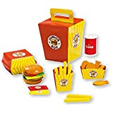 (Angel Impex) Mc Doodle's Junior Wooden Toy Food Play Set Of (26 Pcs) For Your Kids