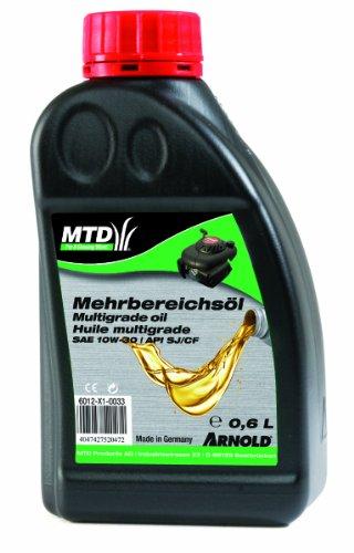 Arnold 6012-X1-0033 Original MTD 4-Takt - Mehrbereichsöl SAE 10W-30, 0.6 Liter
