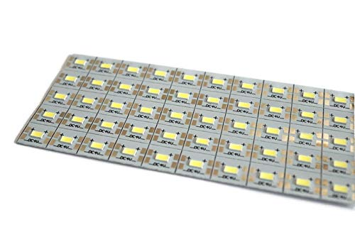 Electronicspices 4V 50 LED aluminium Strip Light Bulbs