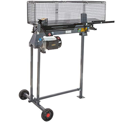 STAHLMANN® Hydraulik-Holzspalter, 7 Tonnen Spaltkraft, inkl. Tisch, stufenlos verstellbarer Spaltweg, 2.300 Watt