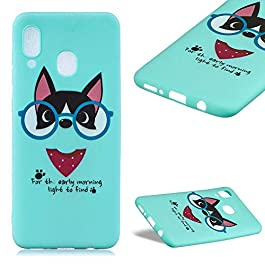 Cestor Custodia per Samsung Galaxy M30 Silicone, Carina Bella Custodia + Ring Stand Holder Morbido TPU Gel Sottile…