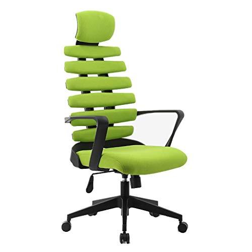HARD Ergonomischer High-Back Racing Style Schalensitz, Computer Swivel Lordosenstütze Executive Office Game Chair - Open-style Schreibtisch
