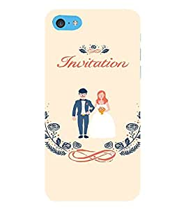EPICCASE Getting married Mobile Back Case Cover For Apple iPod Touch 6 (Designer Case)