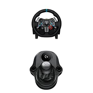 logitech g29 volant de course p dalier pour ps3 et ps4 levier de vitesse driving force. Black Bedroom Furniture Sets. Home Design Ideas