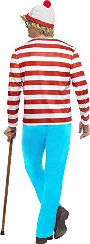 Imagen de smiffy's 34591m  disfraz de wally para hombre talla 38 40 inch leg inseam 32.75 inch  alternativa