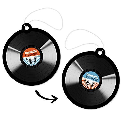 Unbekannt Schallplatte Rock'n'Roll Lufterfrischer - Vinyl Schallplatte Duftbaum Auto Lufterfrischer -