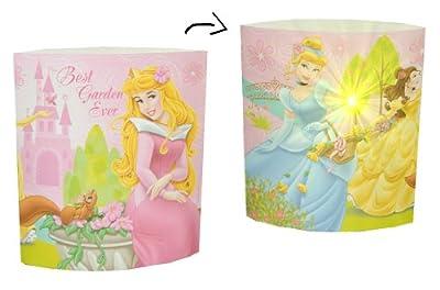 kleine Tischlampe LED Disney Princess - 16 cm hoch Dekolicht Lampe Stehlampe Tischleuchte Kinder Kinderzimmer - Prinzessin von Kinder-Land - Lampenhans.de