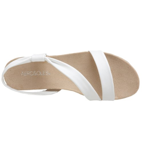 Aerosoles Rediscover Cuir Sandale white