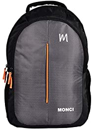 MONCI Milestone Laptop Bag for Women and Men | Backpacks for Girls Boys Stylish | Trending Backpack | School Bag | Bag for Boys Kids Girl | 15 Inch Laptop Bag | Blue (Black)