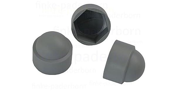 5 Stück Sechskant Schutzkappe M24 Schlüsselweite 36 mm Farbe schwarz Abdeck