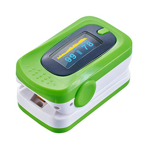Pulse Oximeter Finger akkurate Reading Blood Oxygen Saturation Monitor SpO2 Heart Rate Monitor mit für Kind und Erwachsene